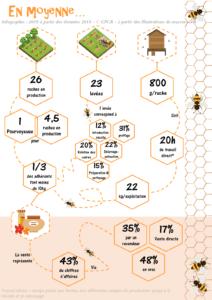 Infographie sur le marché du gelée royale