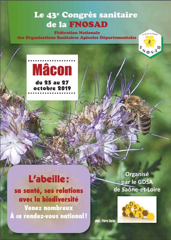 Congrès de la FNOSAD – Mâcon – 2019